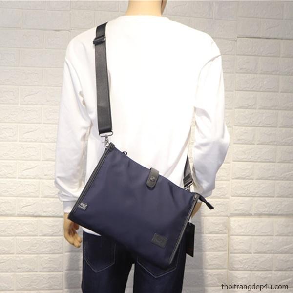 Túi deo chéo vải dù chống nước thời trang DNM024X