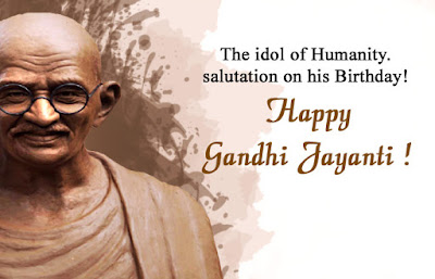 Gandhi Jayanti Images with Quotes Download