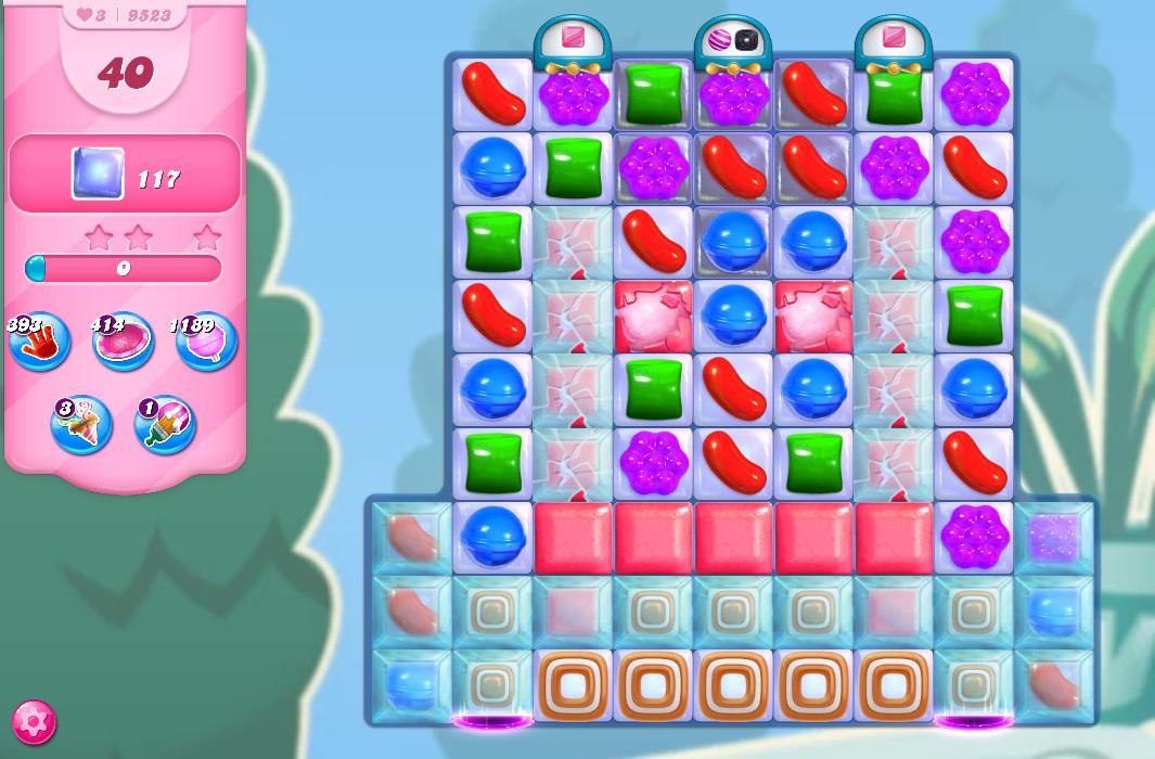 Candy Crush Saga level 9523