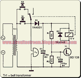 Simple Dual Bell Circuit Diagram