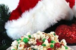 Christmas Crunch Popcorn Recipe