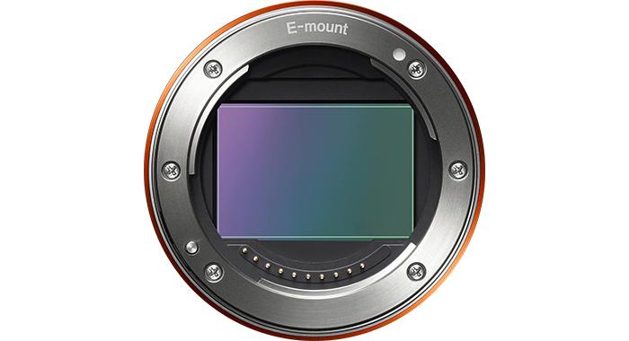 Байонет Sony E с сенсором 36x24 мм