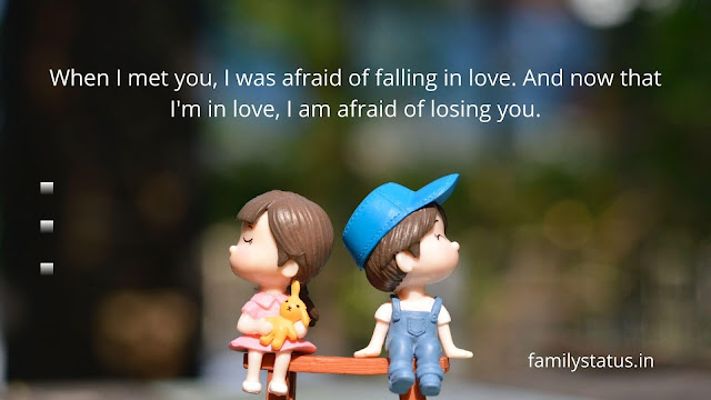 Love quotes in english for girlfriend one line