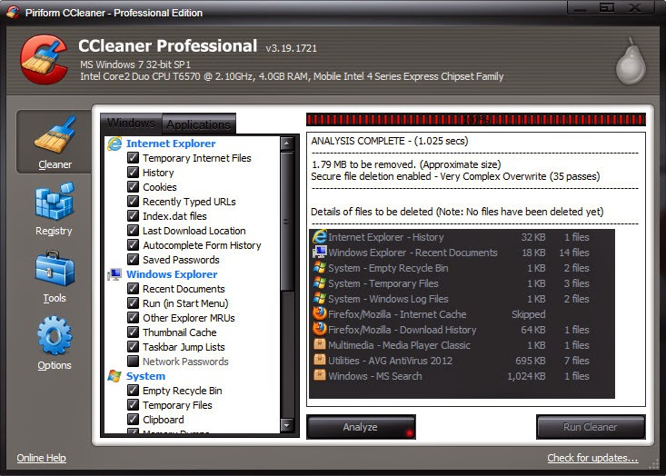 CCleaner Pro 5.60.7307 Full Crack License Keygen 100 ...