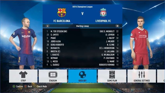 FIFA Font Style For PES 2018