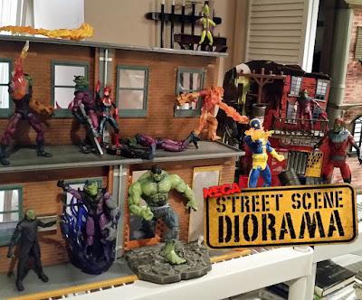 NECA's Street Scene Diorama