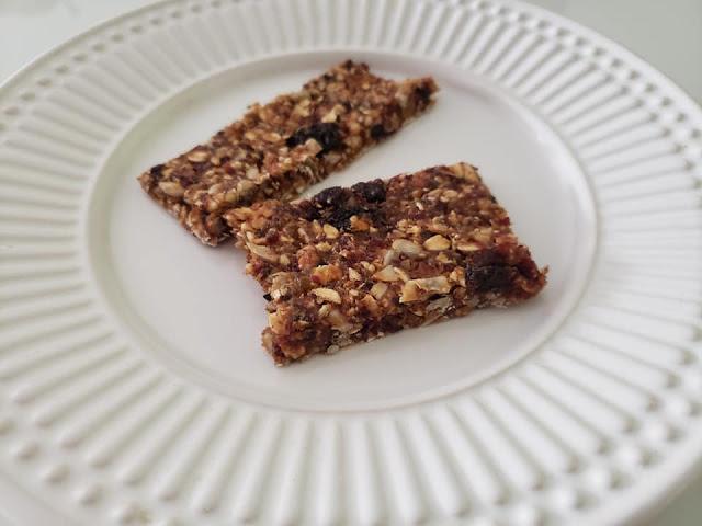 Barrinha de Cereal caseira e vegana
