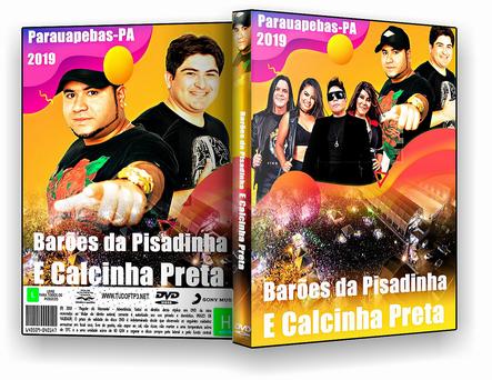 DVD Barões da Pisadinha E Calcinha Preta - Parauapebas - ISO