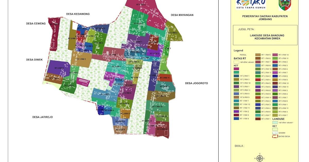 Peta Desa Bandung - Kabar Desa Bandung