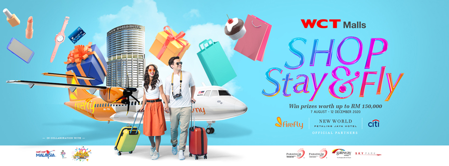 WCT Malls Launches the 'Shop, Stay & Fly' Campaign
