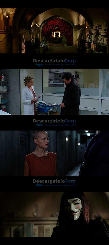 V de Venganza (2006) HD 1080p Latino