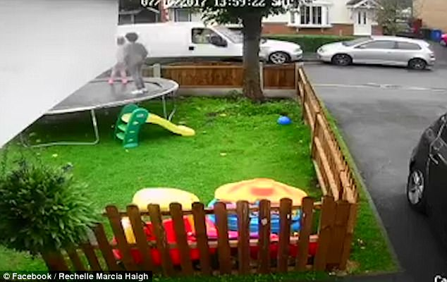 Image result for Terrifying moment van driver 'tries to lure three young girls to his van with doughnuts' before their sister rushes in to chase him away