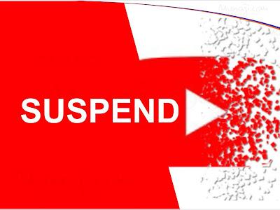 Kenapa Akun YouTube di Suspend, Berikut 11 Penyebab dan Cara Atasinya !