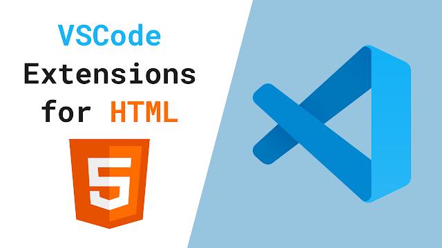 VSCode Extensions for HTML