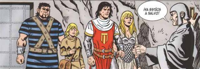 El Capitán Trueno, un héroe de leyenda.