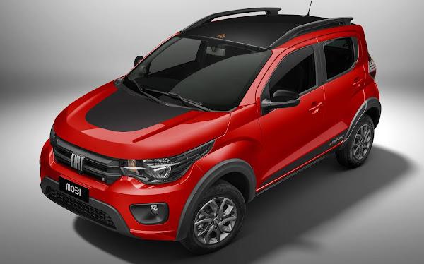 Novo Fiat Mobi 2021 - fotos e preços