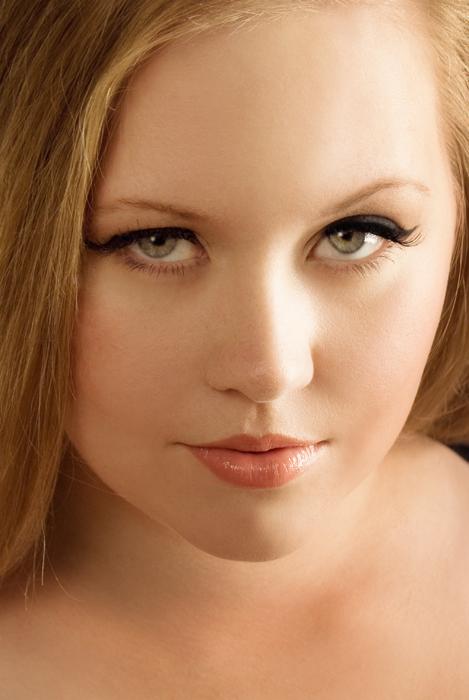 Brunette lingerie model see through dress