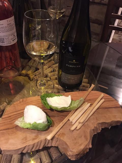 Veeno Selezione wine tasting event, Leeds Wellington Place Timpune Sicani Grillo, Mozzarella di Buffala