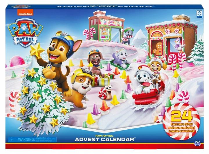 Last Minute -Przegląd kalendarzy adwentowych dla dzieci z zabawkami, Psi Patrol, LOL, lego, Barbie, Swinka Peppa, Baby Born
