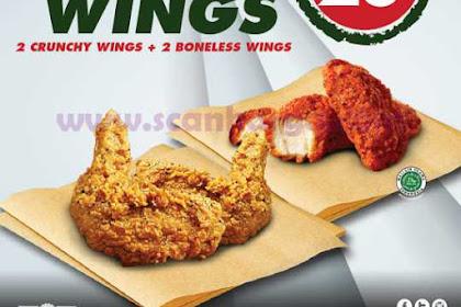 Promo WINGSTOP Paket Spesial Grabfood Periode 15 - 28 Juli 2019