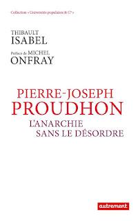 livre de Thibault Isabel sur Proudhon, éditions Autrement