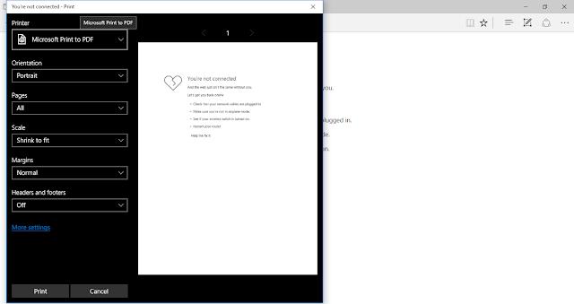 Catatan Ikrom Cara Convert HTML Menjadi PDF dengan Microsoft Edge Browser