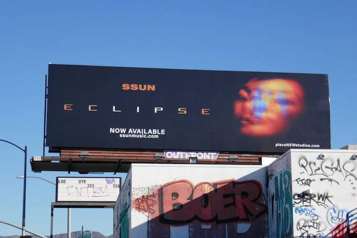 Ssun Eclipse billboard