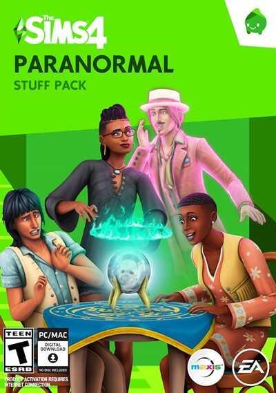 โหลดเกมส์ [Pc] The Sims 4 Paranormal Stuff Pack   สื่อสารกับวิญญาณ เดอะซิมส์ 4