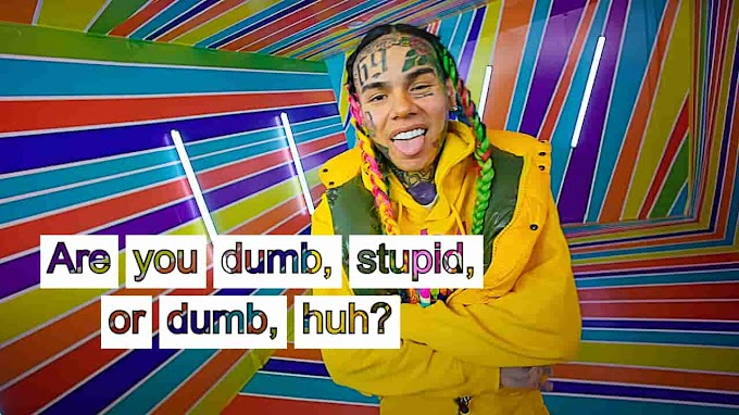 6ix9ine GOOBA Lyrics