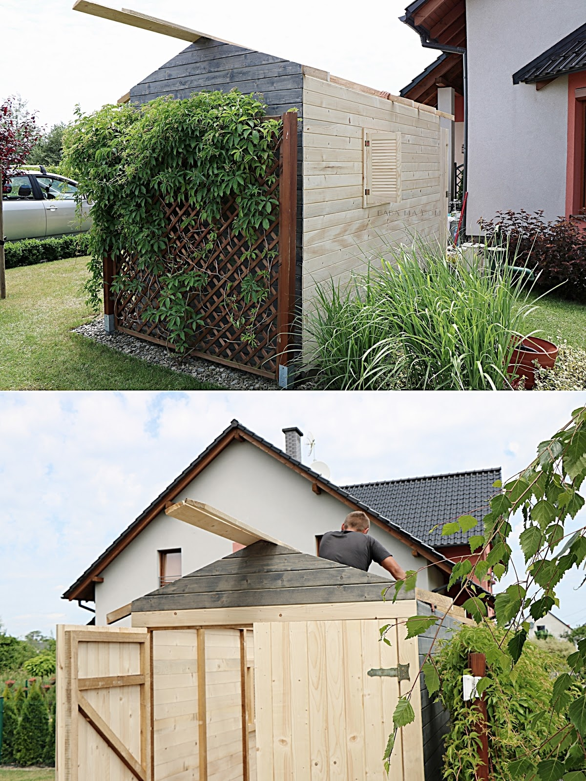 babamadom, DIY, do it yourself, doityourself, domek, drewno, featured, ogród, zrób to sam,