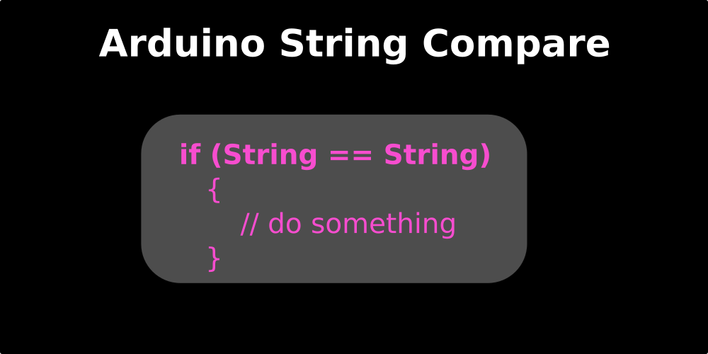 String Arduino Cara Membandingkan String Dari Komunikasi Serial, compare string arduino
