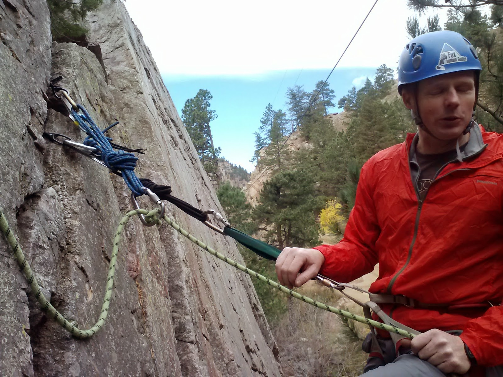 American Alpine Institute - Climbing Blog: Fixed-Point Belay Techniques