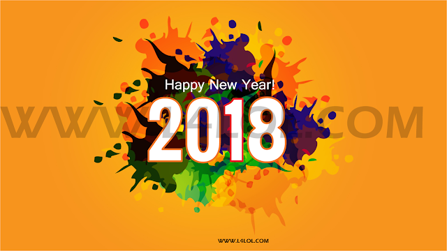 Happy new year 2018 images greetings wallpaper for lover and friends