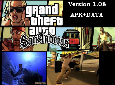 Grand Theft Auto: San Andreas Premium v1.08 Apk+DATA