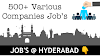 DEET Jobs in Hyderabad Apply Now