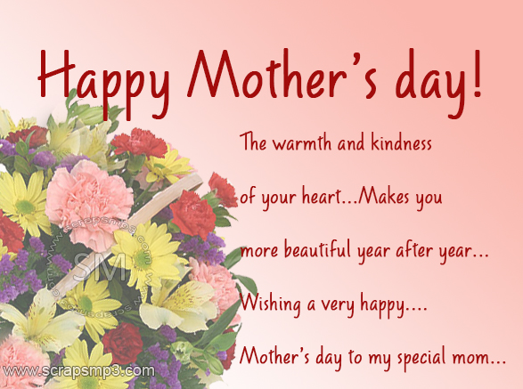 Awesome Mothers Day SMS 2016- Happy Mothers Day Message To Show Her How Much You Care