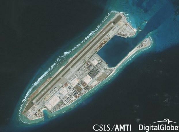 Mỹ bắn tên lửa, trấn áp hành động phi pháp của Trung Quốc trên Biển Đông