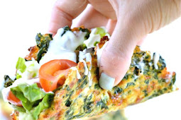 SPINACH CHEESE TACO SHELLS