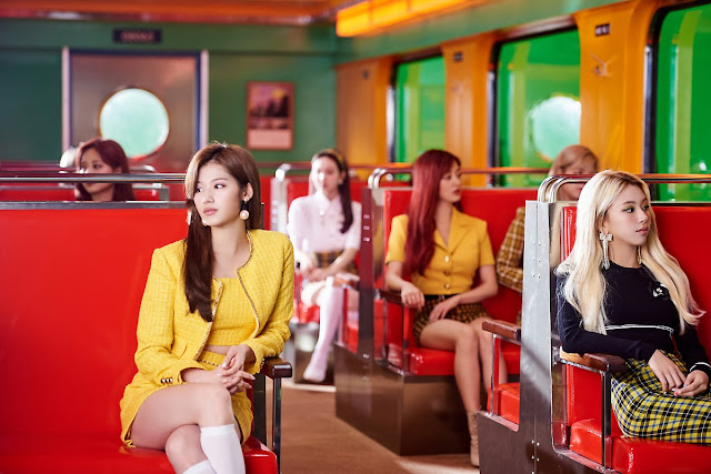 TWICE 'I Can't Stop Me' MV Filming Pictures