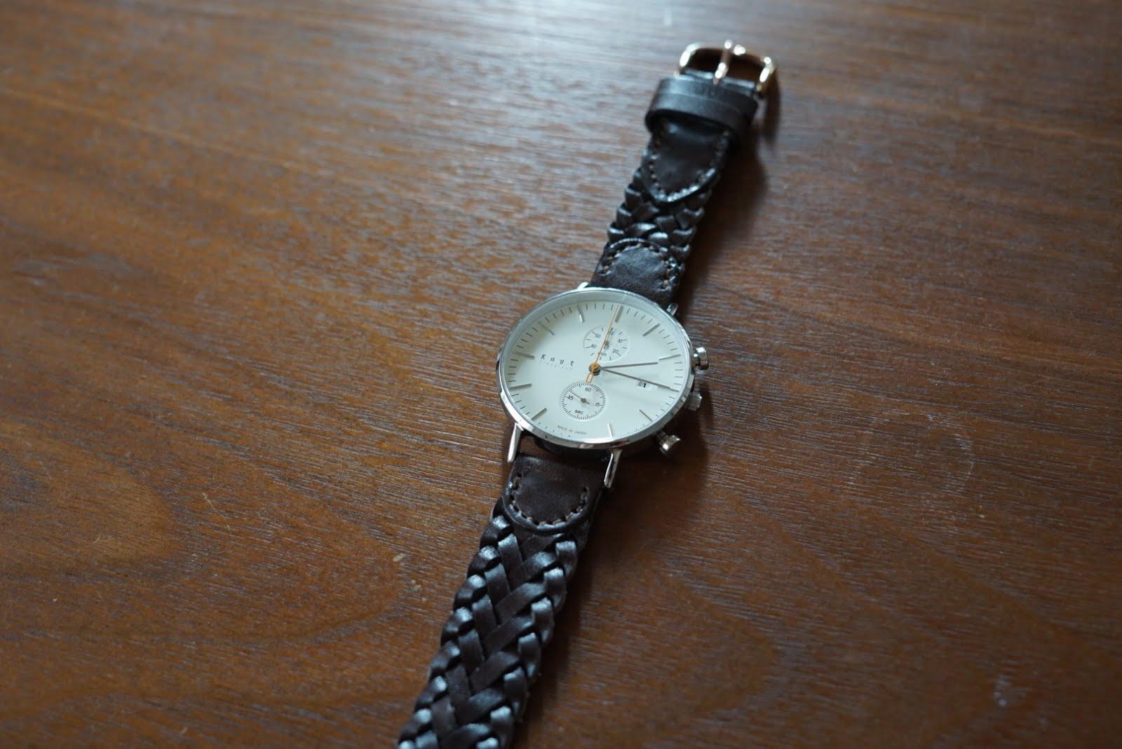 finest selection 82a1d c458e 腕時計Knotのレザーメッシュベルトを購入!ベルトを変えるだけで ...