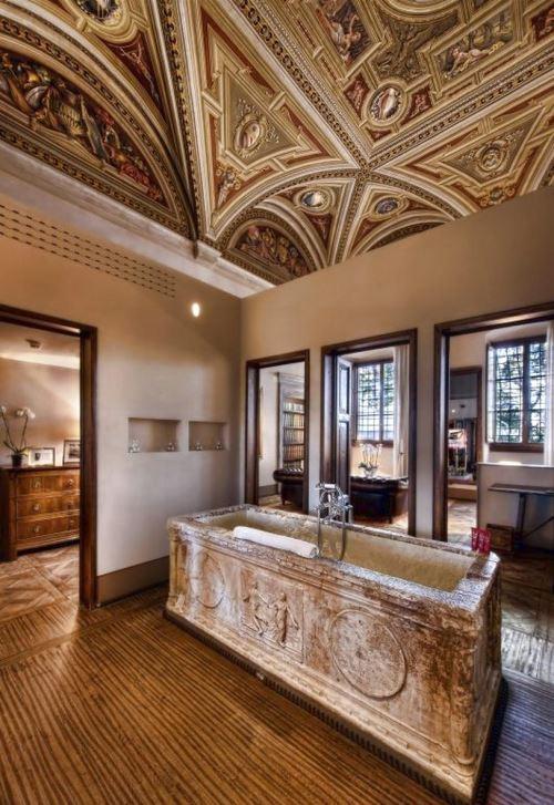 contoh desain Kamar Mandi Hotel termewah