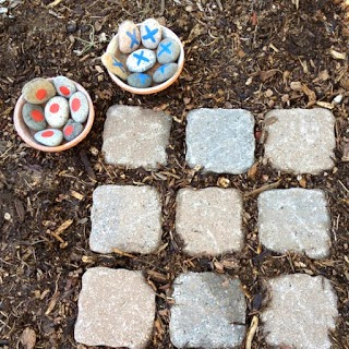outside tic tac toe game for preschoolers