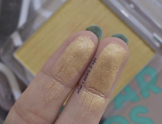 Metal Chrome Colorete de Essence - tono 10 my name is gold rose gold