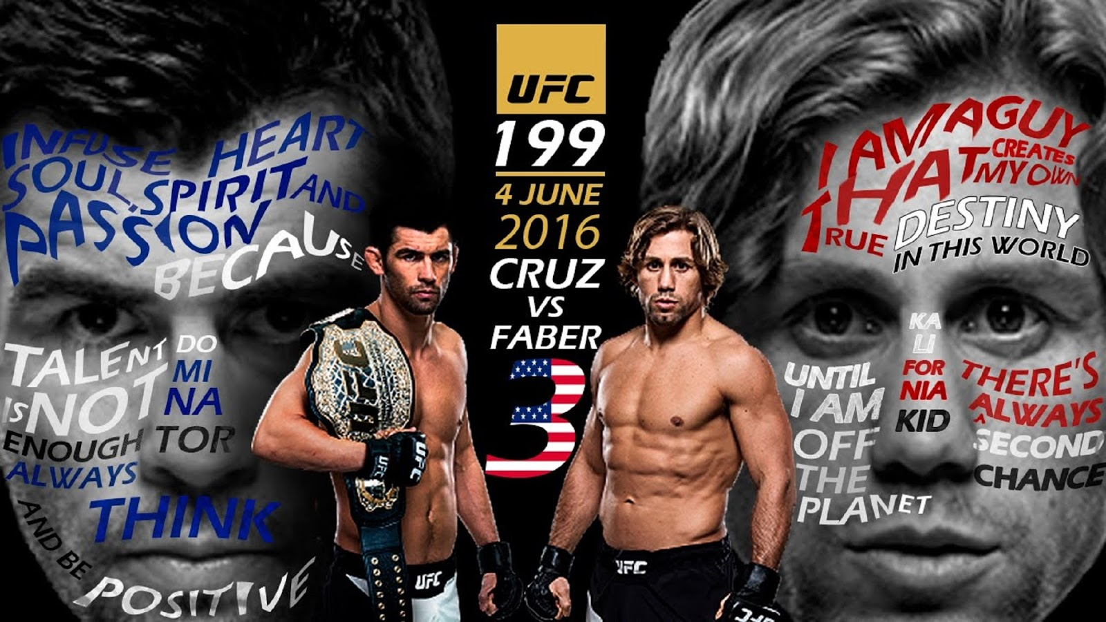 DOMINICK CRUZ VS. URIJAH FABER 7