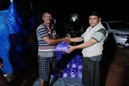 HILMI - FPI Sulteng Salurkan 81 Paket Sembako Untuk Korban Banjir Bandang Konawe Utara