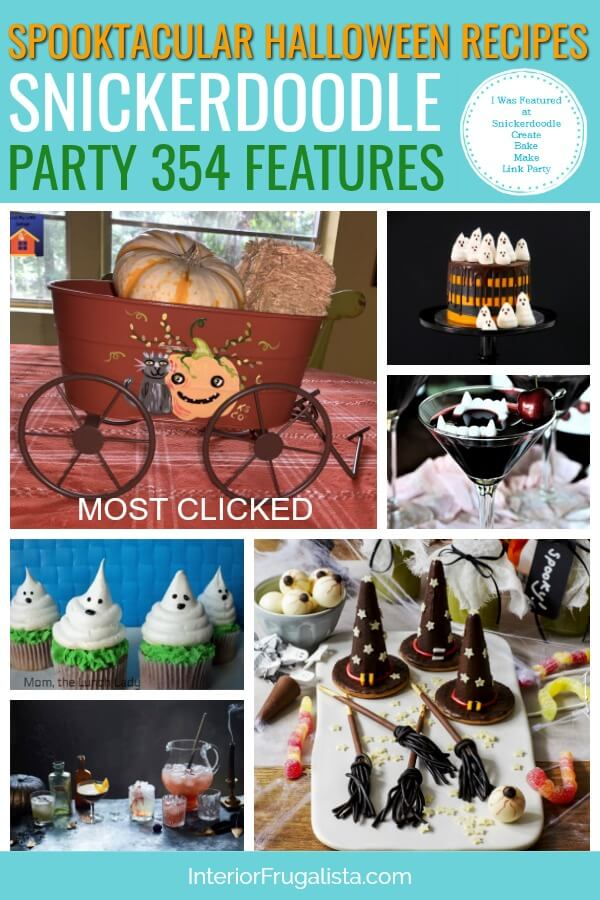Spooktacular Halloween Recipes - Snickerdoodle Party 354 Features