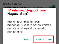 Cara Log Out Akun Gmail Di Android