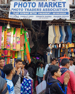 camera shopping equipment photo market old delhi chandni chowk india
