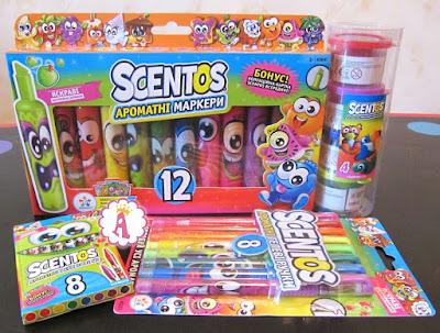 Школьные принадлежности с ароматами фруктов Scentos WeVeel