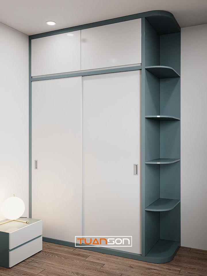 Thiết kế phòng ngủ mẫu 8: Giường tầng phong cách hiện đại trẻ trung